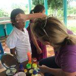 Volunteering in an Indigenous School